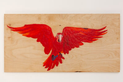 Magnus Sigurdarson, 'Psittacine I (Red) ', 2018