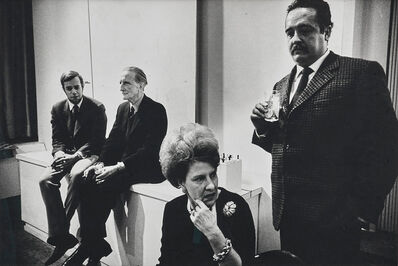 Nat Finkelstein, 'Marcel Duchamp and Sam Greene, Cordier & Ekstrom Gallery, NYC', 1966