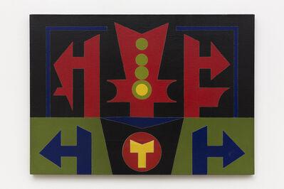 Rubem Valentim, 'Emblema', 1989-90