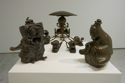 Yang Mao-Lin, 'Canopy Carriers – Mr. Octopus', 2011