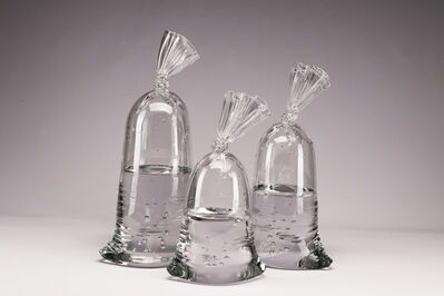 Dylan Martinez, 'Glass Water Bag Trio (1)', 2019