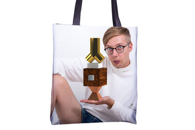 Jeremy Bailey, 'You Tote Bag (222)'