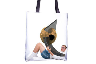 Jeremy Bailey, 'You Tote Bag (221)'
