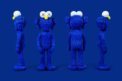 KAWS, 'BFF - Blue - MOMA edition', 2017