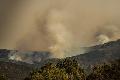 Robert Welkie, 'Forest Fire, Central Utah', 2016