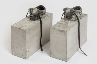 Teresa Braula Reis, 'If only I could stay (protective boots)', 2017