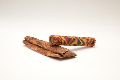 Andean artisan, 'Needle Cases (1, 2)', (1) Pre Colombian, date unknown, (2) 100, 600 CE