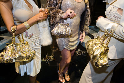 Lauren Greenfield, 'Jackie and friends with Versace handbags at a private opening at the Versace Store, Beverly Hills, Ed. 1/5', 2007