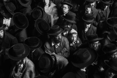 Ofir Barak, 'Mea Shearim, Anti Drafting Demonstrators'
