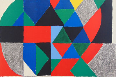 Sonia Delaunay, 'Polyphony', 1971