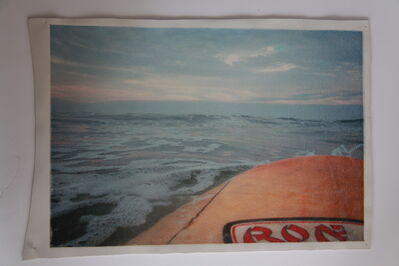 Katrina Del Mar, 'White Leather Series: Paddling out early morning Rockaway (Ron Jon) ', 2003-2015