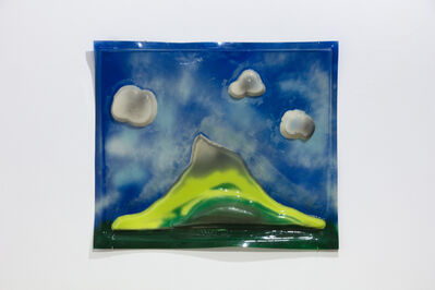 Iain Baxter&, 'Landscape with 3 clouds', 1965