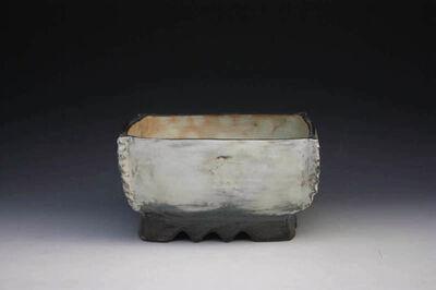 Kang Hyo Lee, 'Pucheong Squared Bowl with Ash Glaze 2', ca. 2012