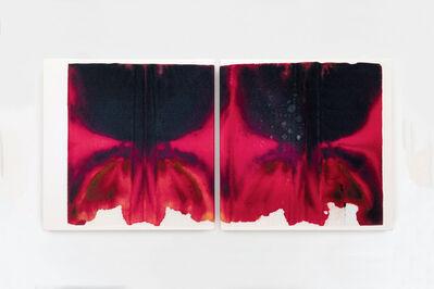 Justin Suazo, 'Piezo_Flora_007 (Blood Orchid Diptych)', 2018