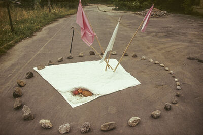 Maria Pinińska-Bereś, 'Circle (Krąg)', 1976