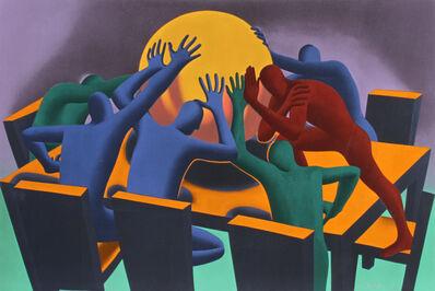 Mark Kostabi, 'Earth Inc., 1990, Mark Kostabi', 1990