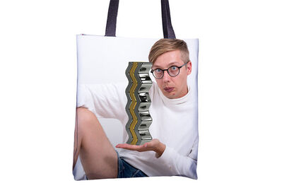 Jeremy Bailey, 'You Tote Bag (212)'