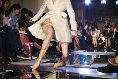 Lauren Greenfield, 'A model slips on the runway at Jason Wu's spring show, New York City', 2009