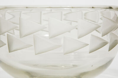 Jean Luce, 'Art deco glass bowl', ca. 1935