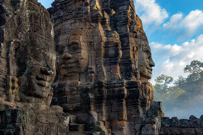William Frej, 'Bayon Temple, Angkor Thom, Cambodia', 2016