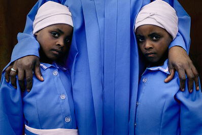Per-Anders Pettersson, 'Twin Girls at Church', 2001