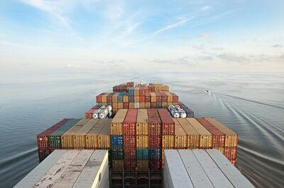 Lou Vest, 'Container Ship', ca. 2017