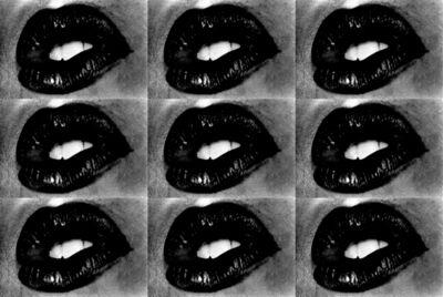 Daido Moriyama, 'Untitled (Lips 9 Times)', 2001