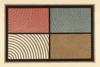 Sol LeWitt, 'Arcs from Four Corners', 1986