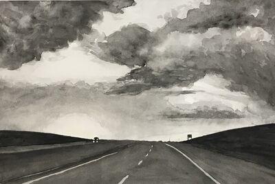 Joshua Huyser, 'Highway Sunest'