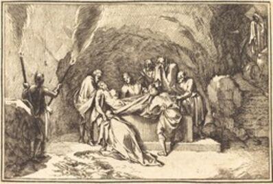 after Sébastien Le Clerc I, 'The Entombment'