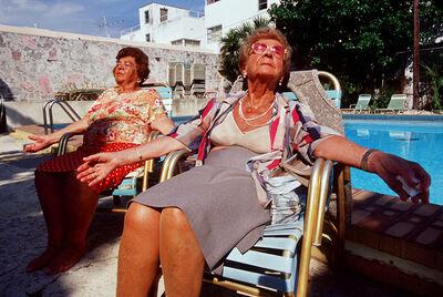 Naomi Harris, 'Marie and Sonia by the Pool, Haddon Hall Hotel, Miami Beach, FL', 2000