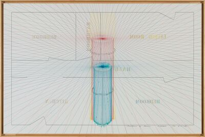 Shusaku Arakawa, 'Texture of Time', 1977