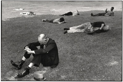 Henri Cartier-Bresson, 'Boston Commons', 1947