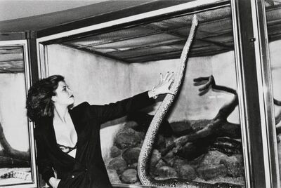 Helmut Newton, 'Woman with Snake', 1979