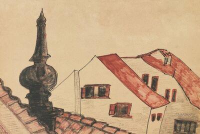 Hoo Mojong, 'Landscape', 1964