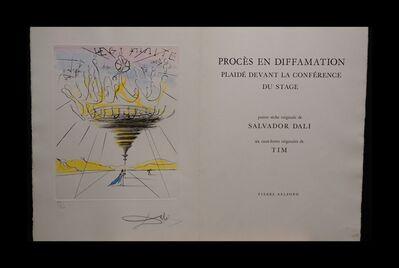 Salvador Dalí, 'Legitimite - Process and Defamation Complete Suite', 1971