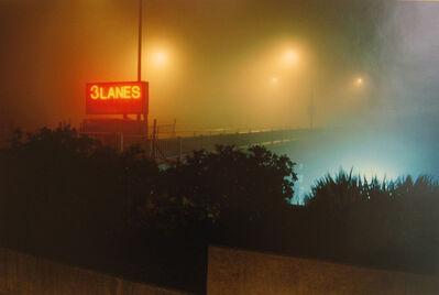 William Farley, 'Three Lanes Sign, 3:00 AM @ South End of the Golden Gate Bridge, San Francisco, CA', 2008