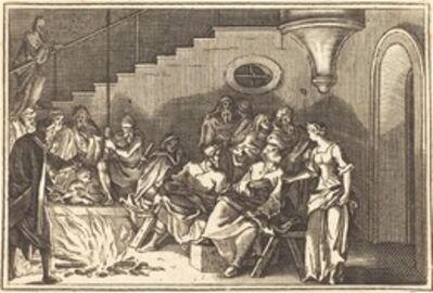 after Sébastien Le Clerc I, 'Peter Denying Christ'