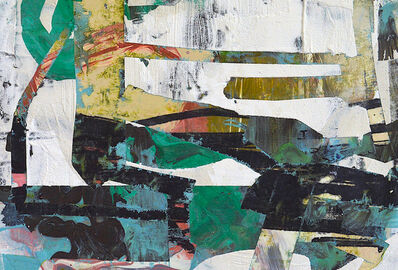 Audrey Tulimiero Welch, 'Mapped Terrain Green', 2015