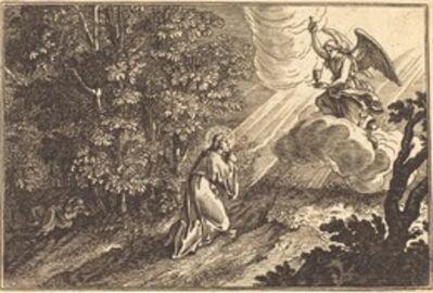 after Sébastien Le Clerc I, 'Christ Praying on the Mount of Olives'