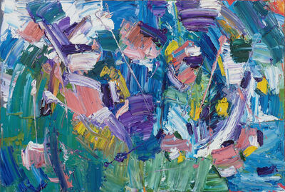 Marcel Kahhak, 'Abstract/Gestural Diptych', ca. 2008