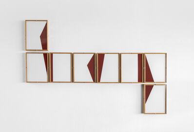 Dario Escobar, 'Red Composition No.25', 2018