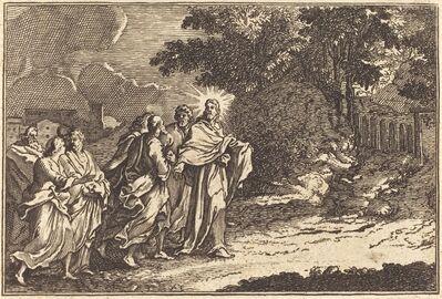 after Sébastien Le Clerc I, 'Christ Arrives on the Mount of Olives'