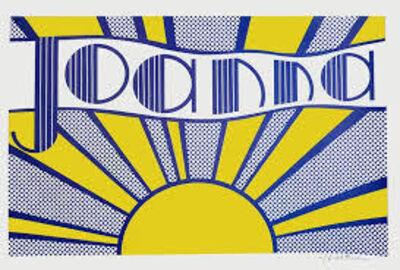 Roy Lichtenstein, 'Joanna', Unknown