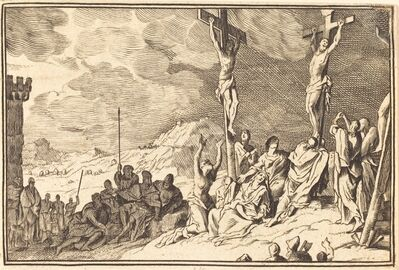 after Sébastien Le Clerc I, 'Christ Dying on the Cross'