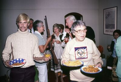 David LaChapelle, 'Recollections in America: Party Snacks & Rifle, Los Angeles', 2006