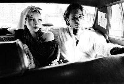 Stephanie Pfriender Stylander, 'Kate Moss and Marcus Schenkenberg (Cool), Harper's Bazaar Uomo, New York', 1992