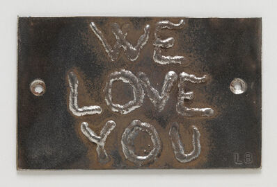 Louise Bourgeois, 'We Love You,', 2005