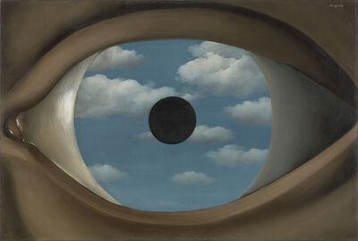 René Magritte, 'The False Mirror (Le Faux Miroir)', 1928
