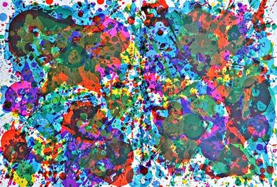 Sam Francis, 'UNTITLED (from Carnegie Museum of Art Portfolio)', 1972